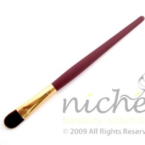 Cosmetic Foundation Brush with Gold Ferrule