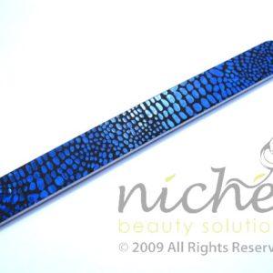 Disco Cushioned Emery Board - Blue