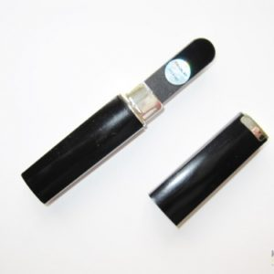 Mini Glass Nail File in All Black with Black Case