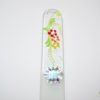 Glass Nail File with a Spring Flowers Design