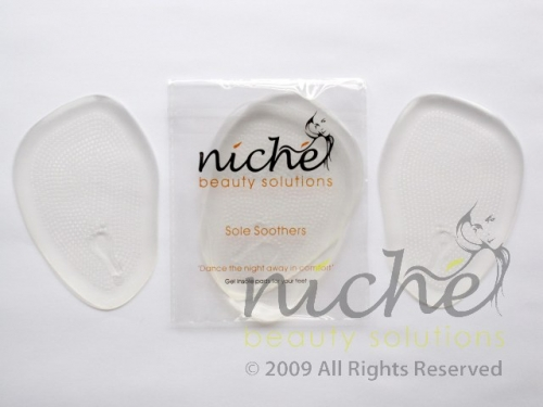 """""""SOLE SOOTHERS"""" Party Feet Gel Pads"""