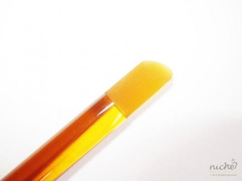 Glass Manicure Stick & Cuticle Pusher in Gold Glass