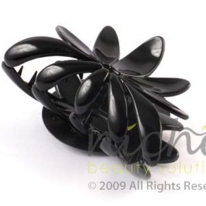 Beauty Senses Black Flower Hair Claw