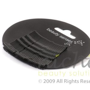 Beauty Senses Black Kirbi Hair Grips