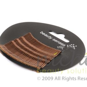 Beauty Senses Brown Kirbi Hair Grips