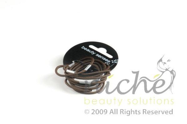 Beauty Senses Brown Thin Hair Loops - 10 pack