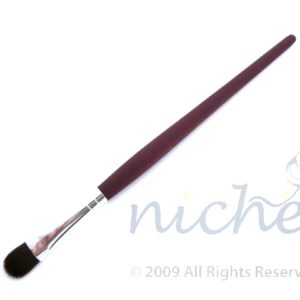 Cosmetic Blender Brush with Silver Ferrule