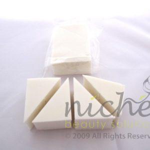 Cosmetic Wedge Sponges - 4 pack x 10