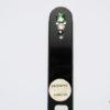 Crystal Glass Nail in All Black with Swarovski Jewels