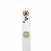 Crystal Glass Nail File with a Summer Flower in Swarovski
