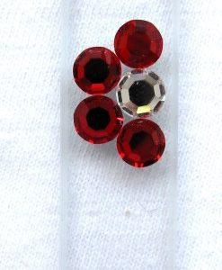 Glass Nail File with Preciosa Jewels
