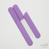 Glass Nail File in a Soft-Touch Purple Protective Case