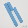 Glass Nail File in a Soft-Touch Sky Blue Protective Case