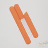 Glass Nail File in a Soft-Touch Orange Protective Case