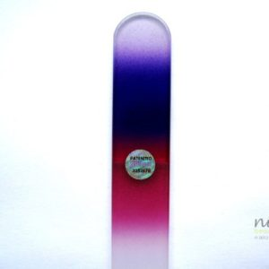 Large Glass Nail and Foot File - Purple to Mauve - SALE!!