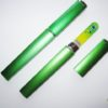 Medium Size Glass Nail File Case in Green