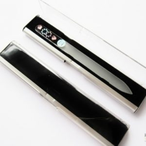 Medium Size Glass Nail File Display Case