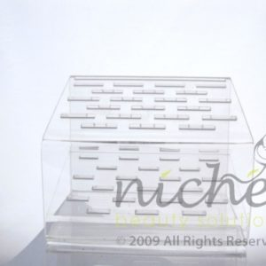 Glass Nail File Display Stand - Empty