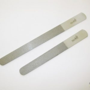 Professional Stainless Steel Nail and Foot File Duo Set