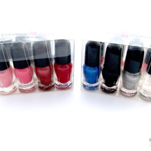 """CREATIVE COLOURS"" Nail Polish Party 8 Pack"