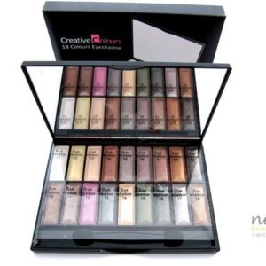 """CREATIVE COLOURS"" 18 Colour Eyeshadow Compact Set"