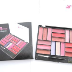 """CREATIVE COLOURS"" 18 Colour Lip Gloss Compact Set"