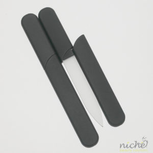 Glass Nail File in a Soft-Touch Black Protective Case