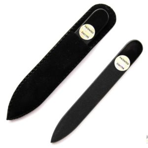 **SALE** Mini Glass Nail File in All Black