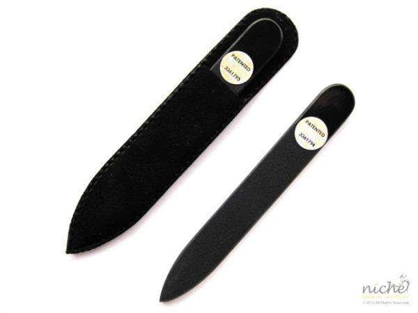 **SALE** Mini Glass Nail File in All Black